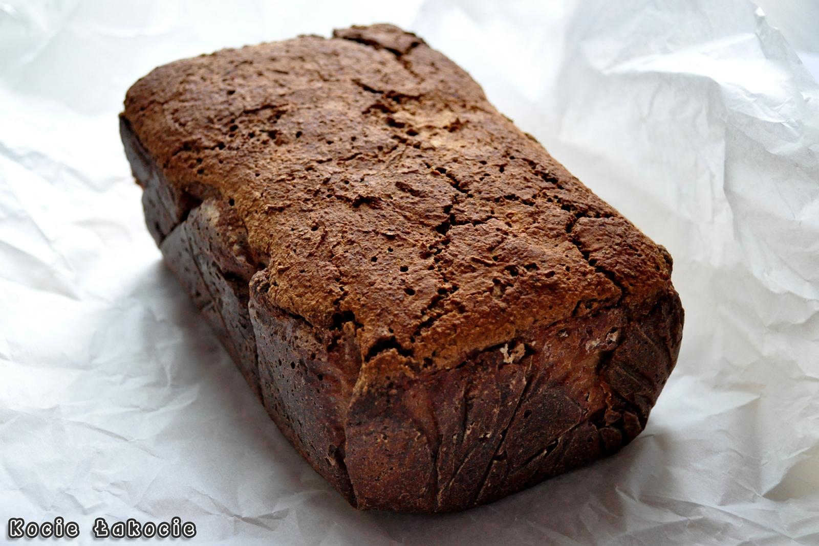 Chleb gryczany z kminkiem