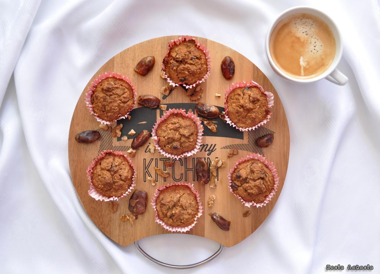Owocowe fit muffinki (bezglutenowe i bez cukru)