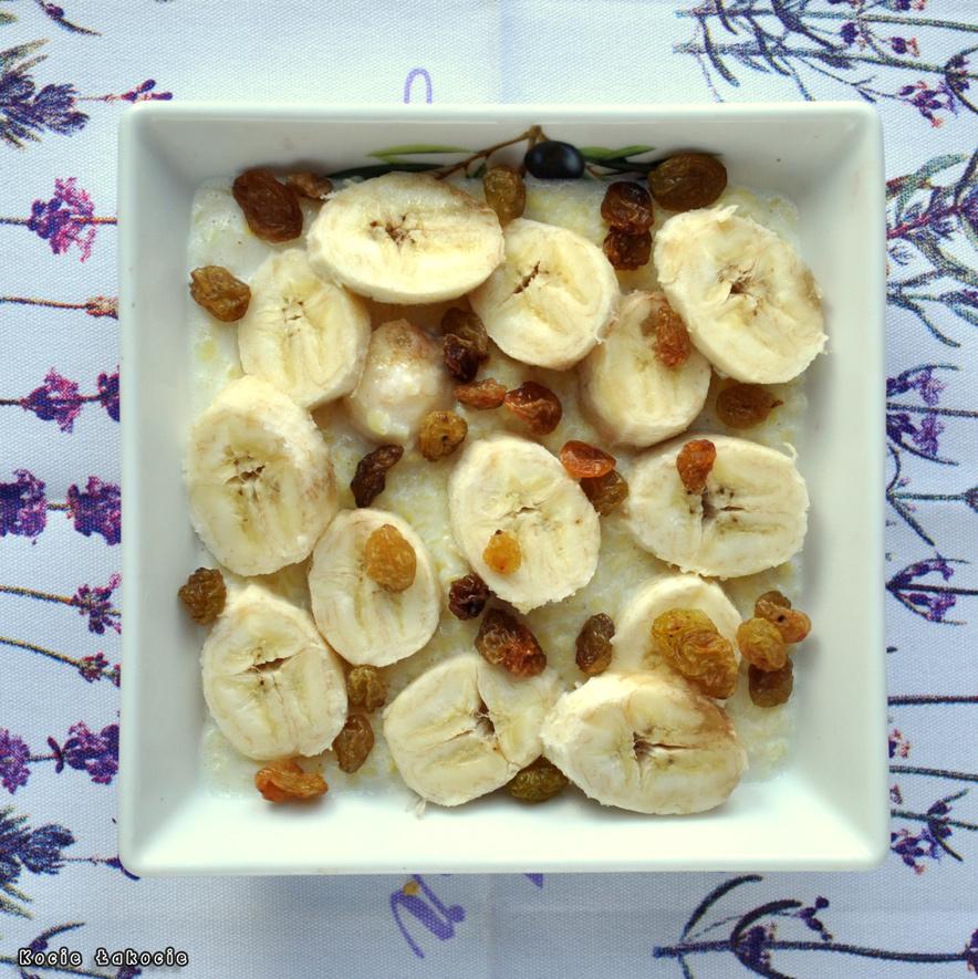 Jaglanka bananowo-orzechowa