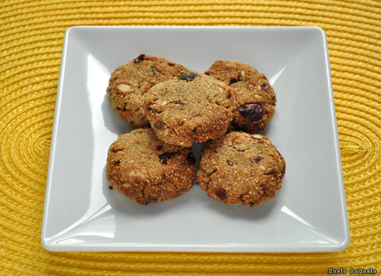 Ciasteczka owsiano-jaglane (bezglutenowe i bez cukru)
