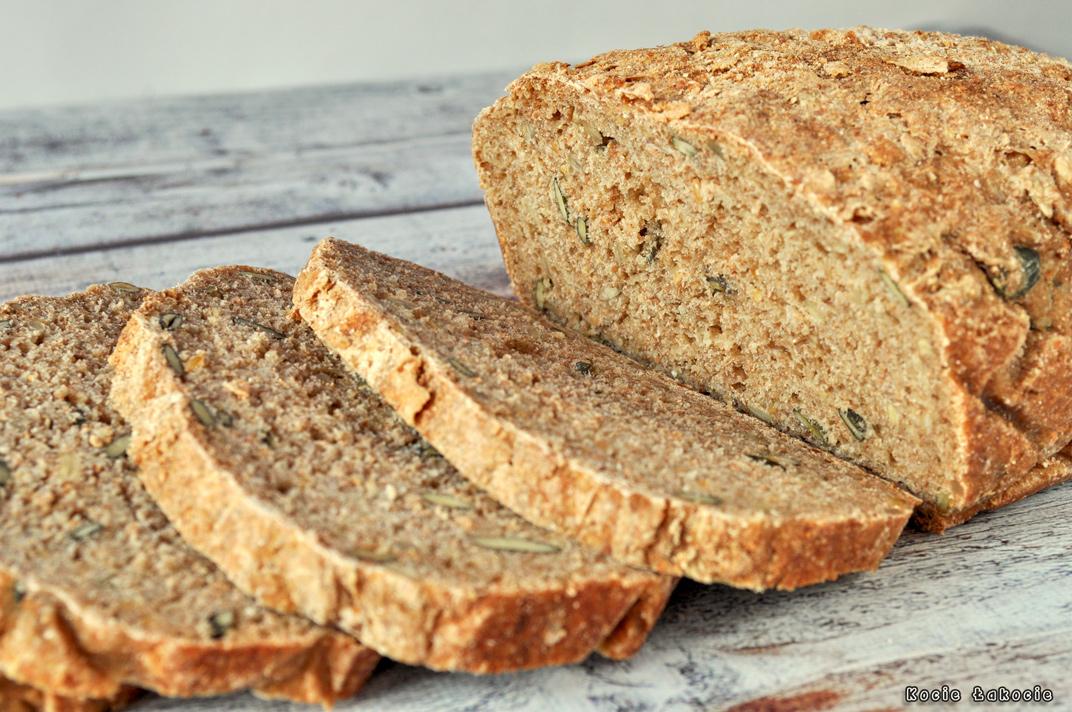 Chleb pełnoziarnisty na pszennym zakwasie