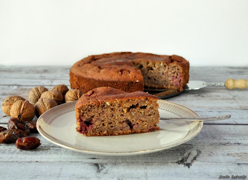 Proste ciasto malinowe (bez cukru)