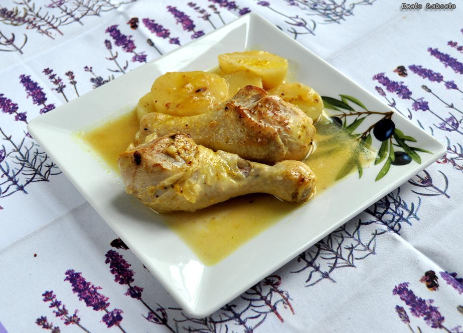 Kurczak cytrynowy po kreteńsku