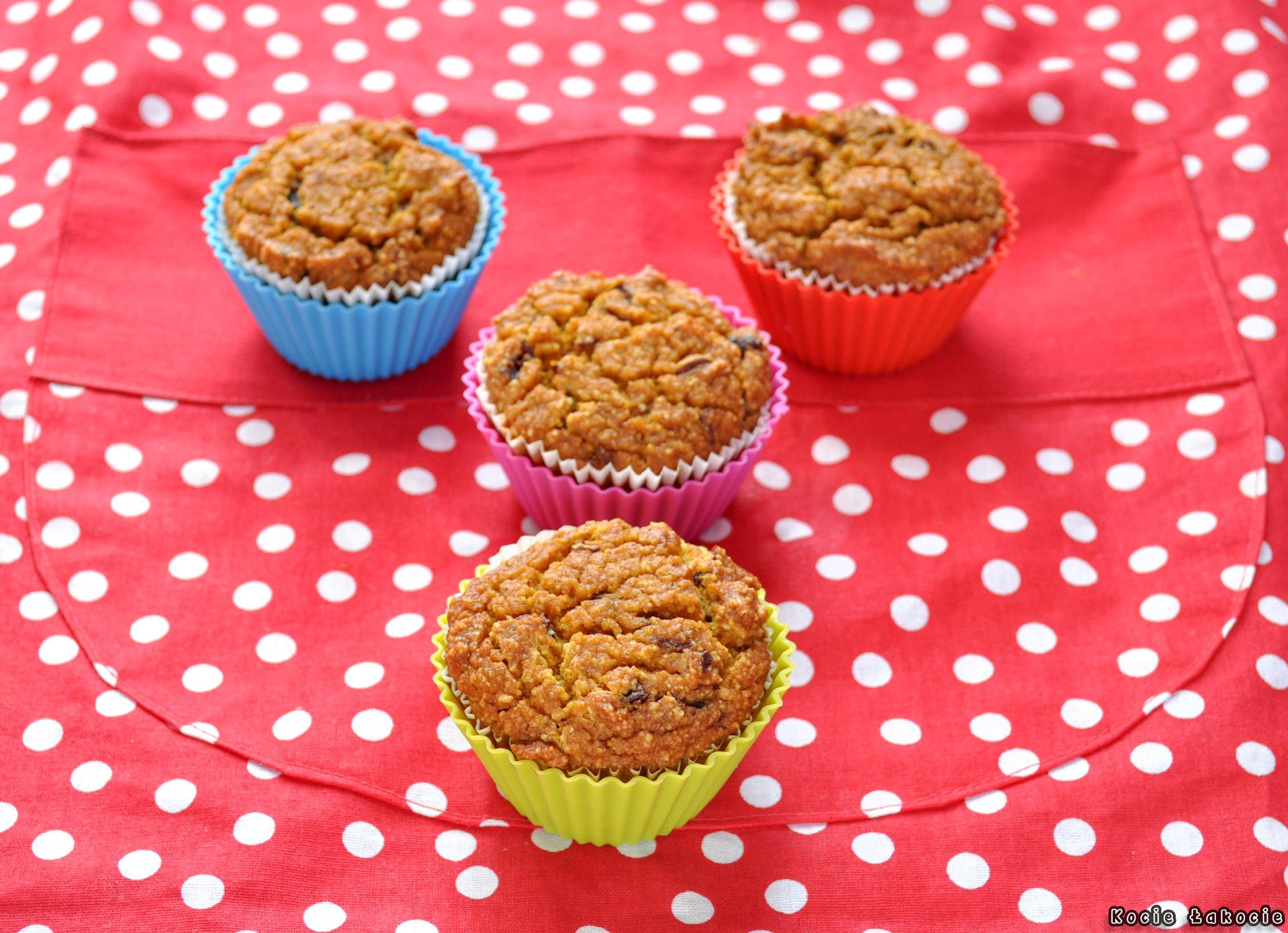 Muffinki jaglano-dyniowe