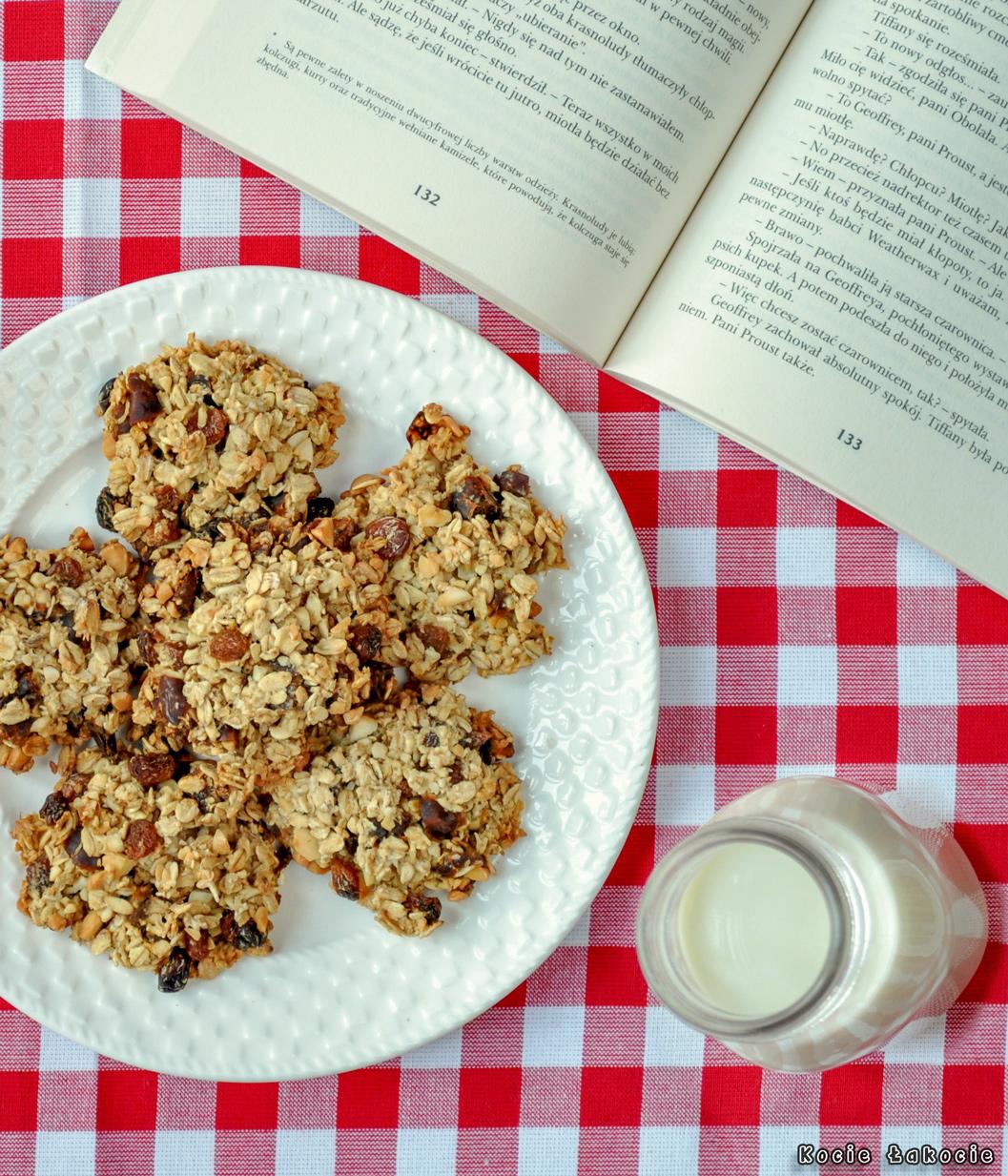 Ciasteczka owsiano-bakaliowe