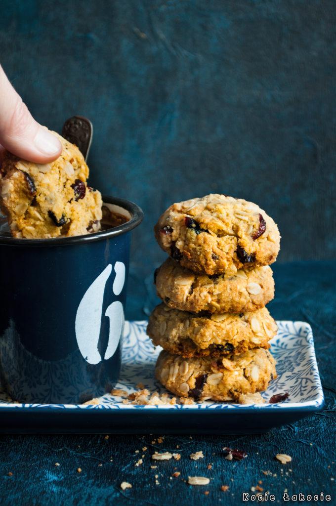 Wegańskie ciasteczka migdałowe