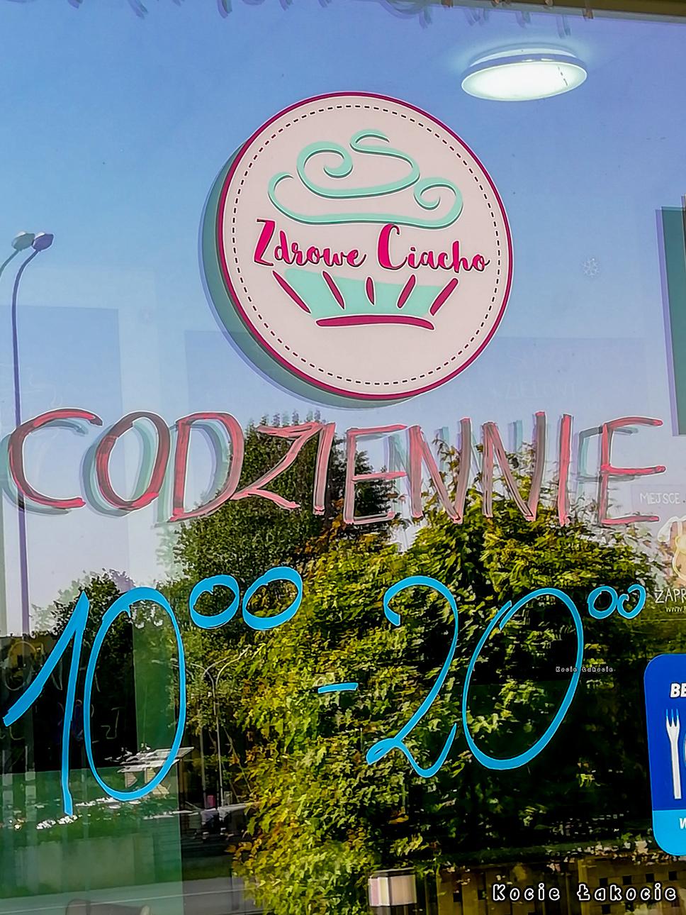 Kocie Łakocie na mieście: kawiarnia Zdrowe Ciacho