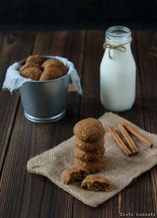 Wegańskie ciasteczka dyniowe (bez cukru)