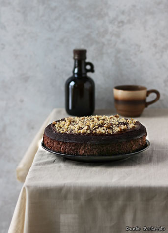 Czekoladowe ciasto z kalafiora (bez cukru)