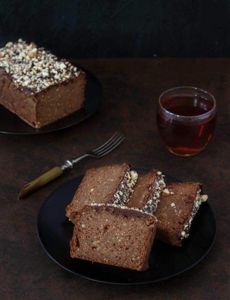 ciasto karobowe z kaszy gryczanej