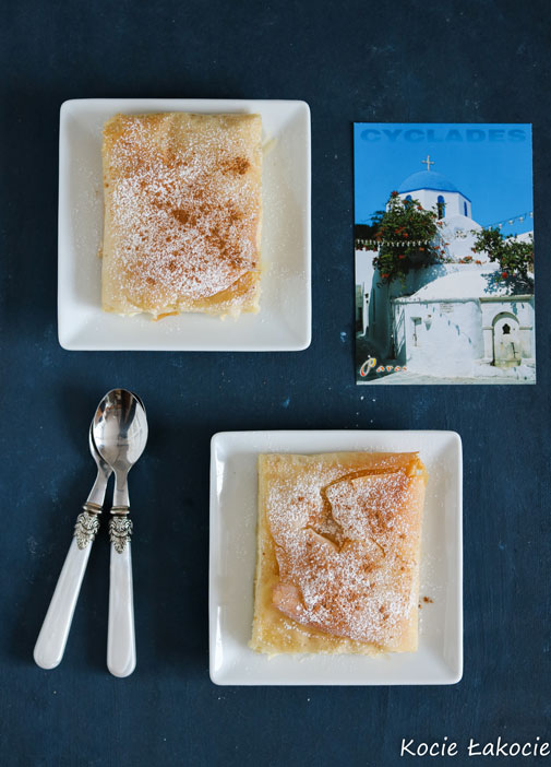 Bougatsa – greckie ciastko śniadaniowe