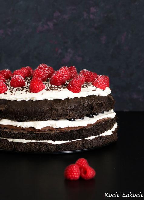 Black Velvet Cake (bez cukru)