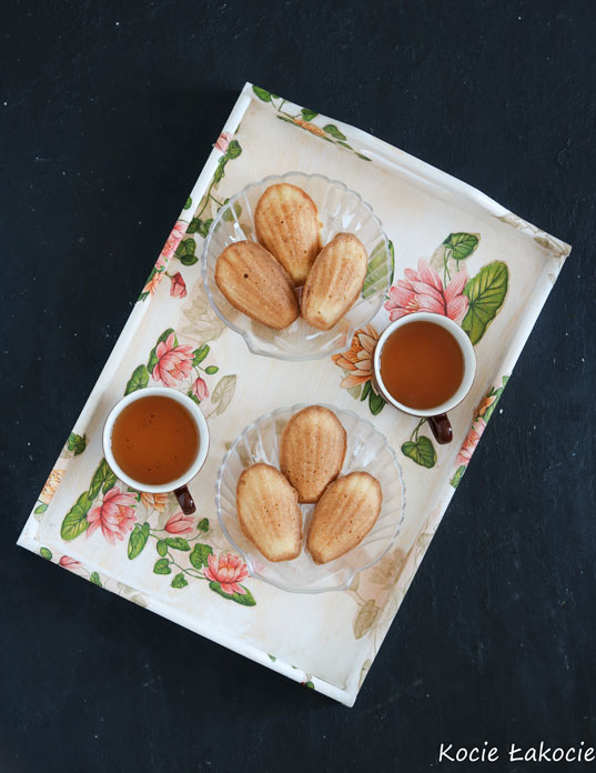 Magdalenki – francuskie ciasteczka